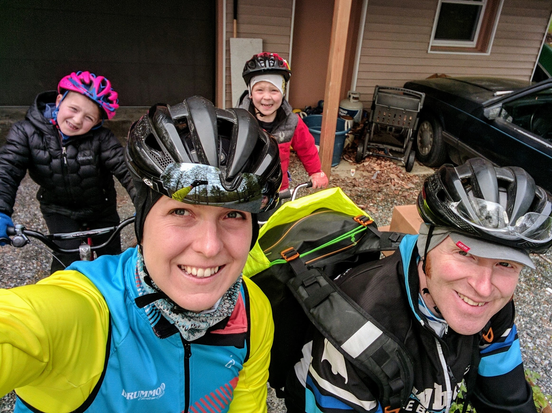 Families who ride together…