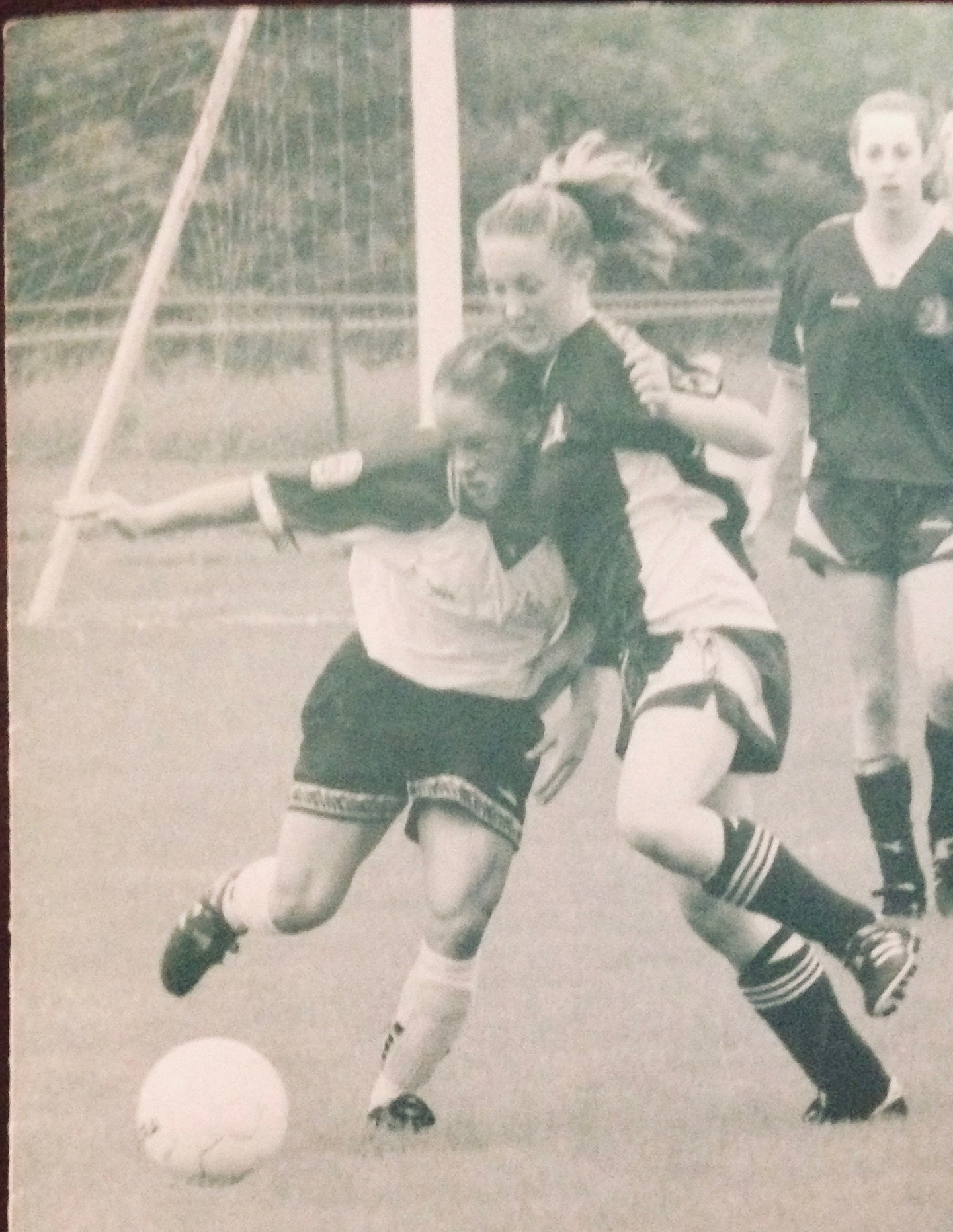 A young soccer phenom, but those quads were destined for cycling!