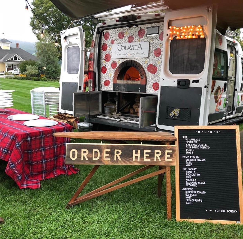 Colavita mobile kitchen. photo credit: colavita