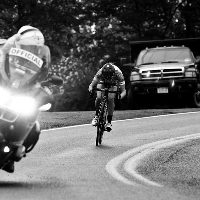 Focus, determination, speed.