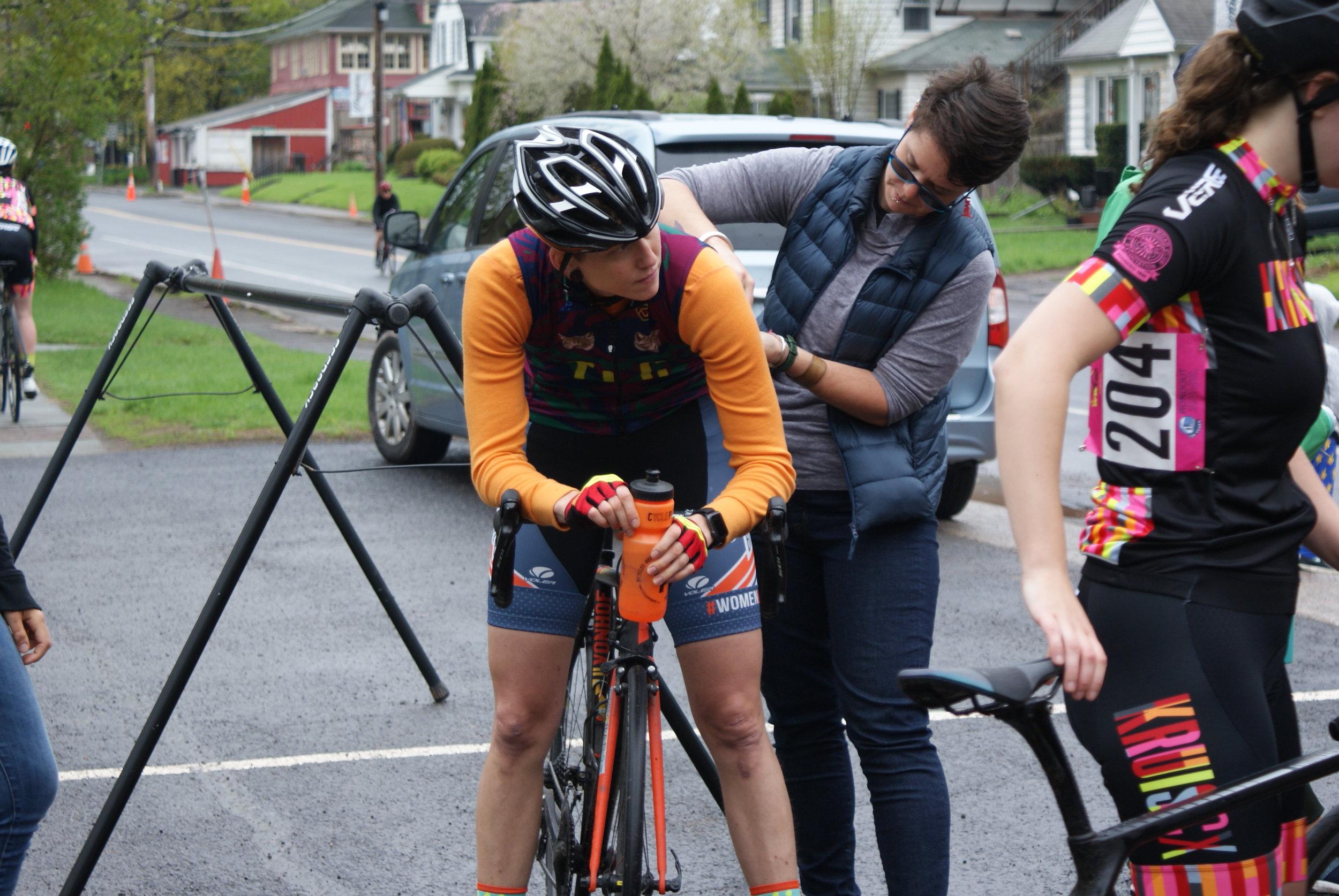 transgender cyclist