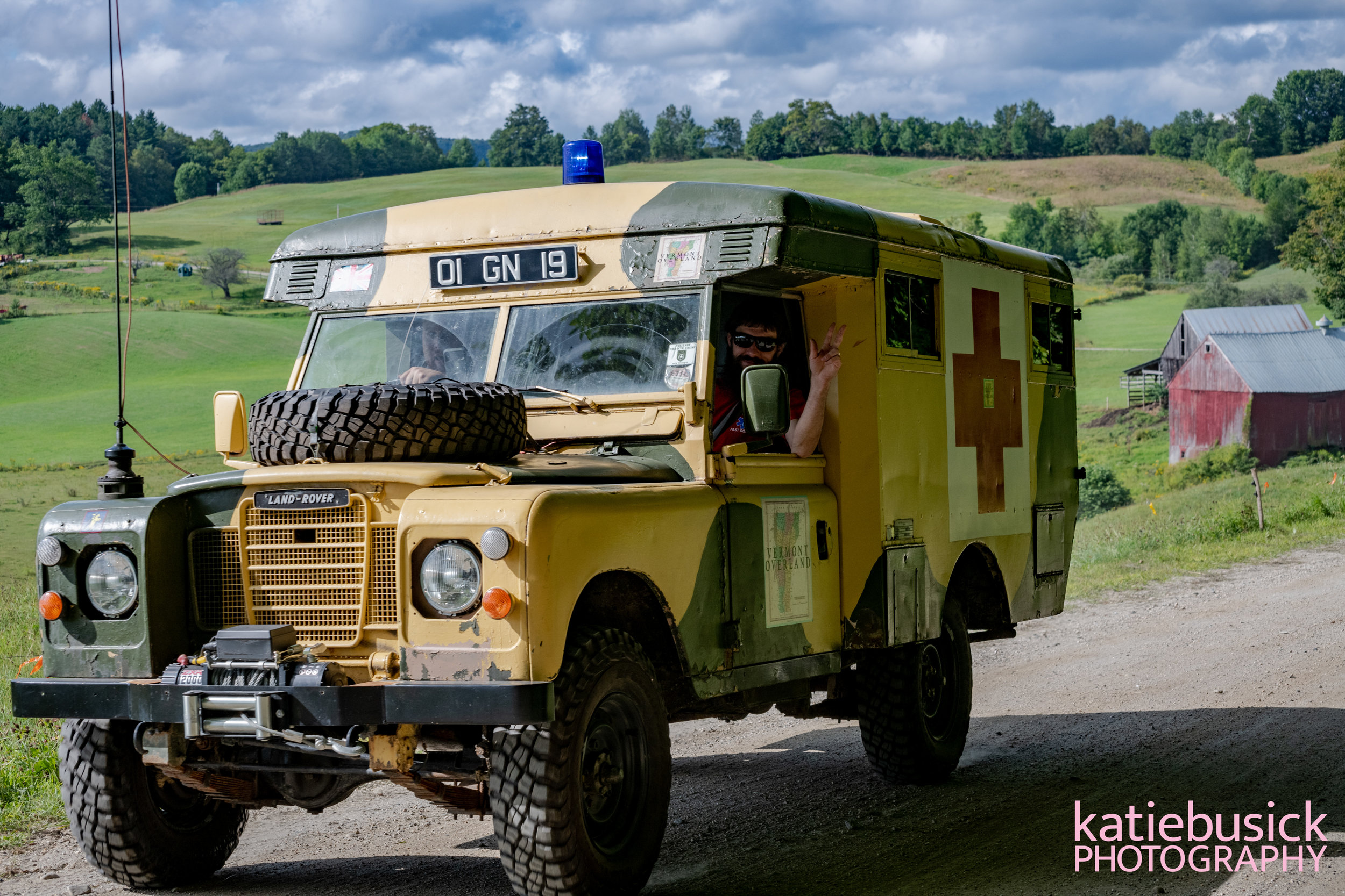 The Overland Support Vehicle