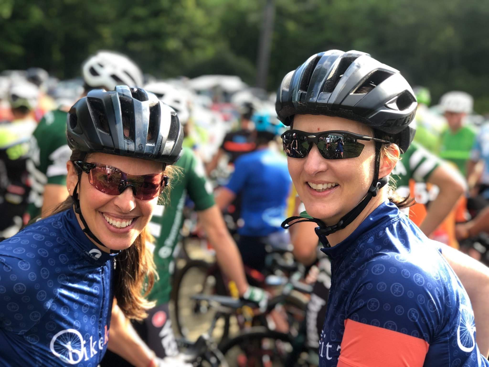 Jen Barden and Jen Duby at The  Overland 2019