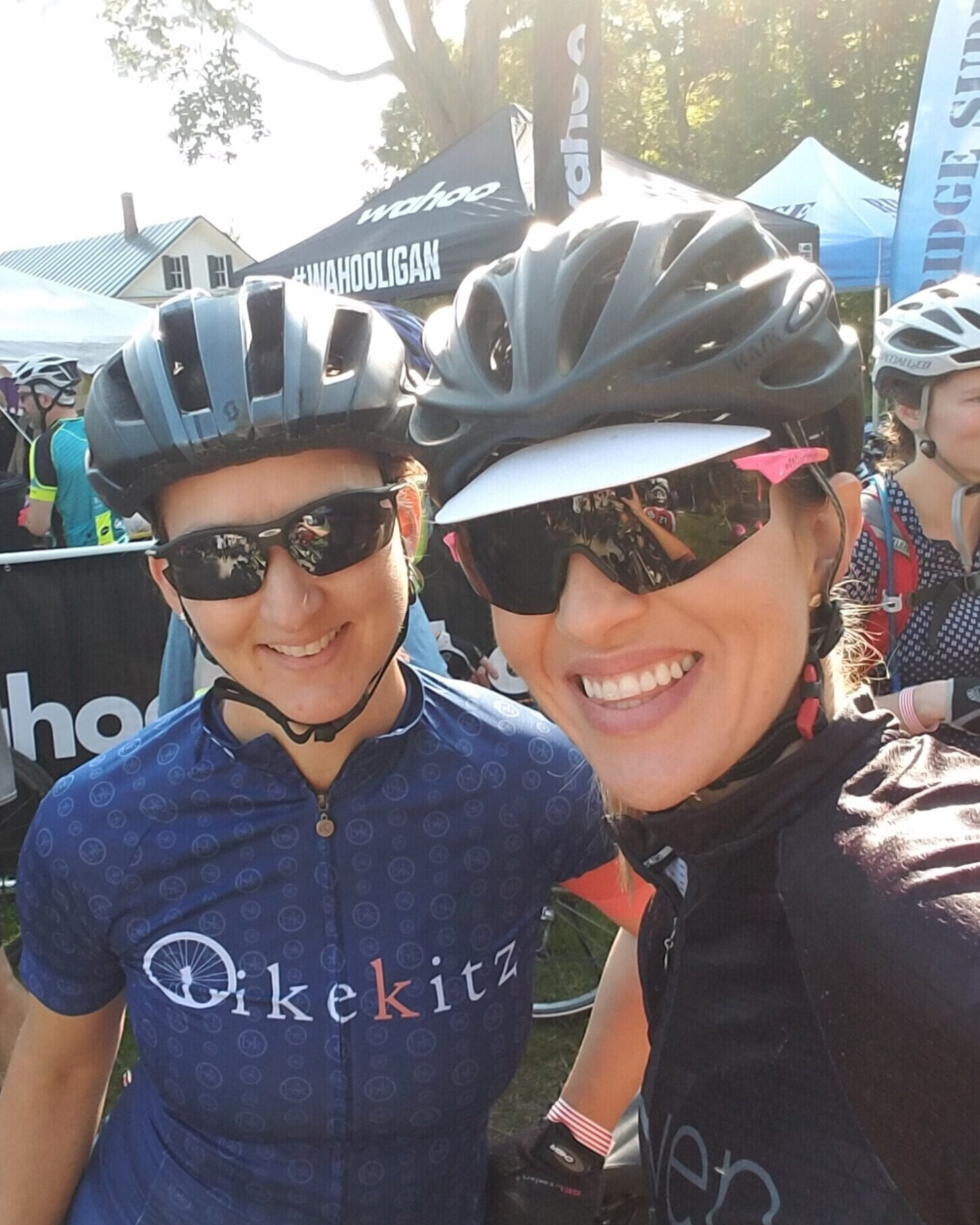 with bikekitz friend and  Maven  owner  Kayla Brannen
