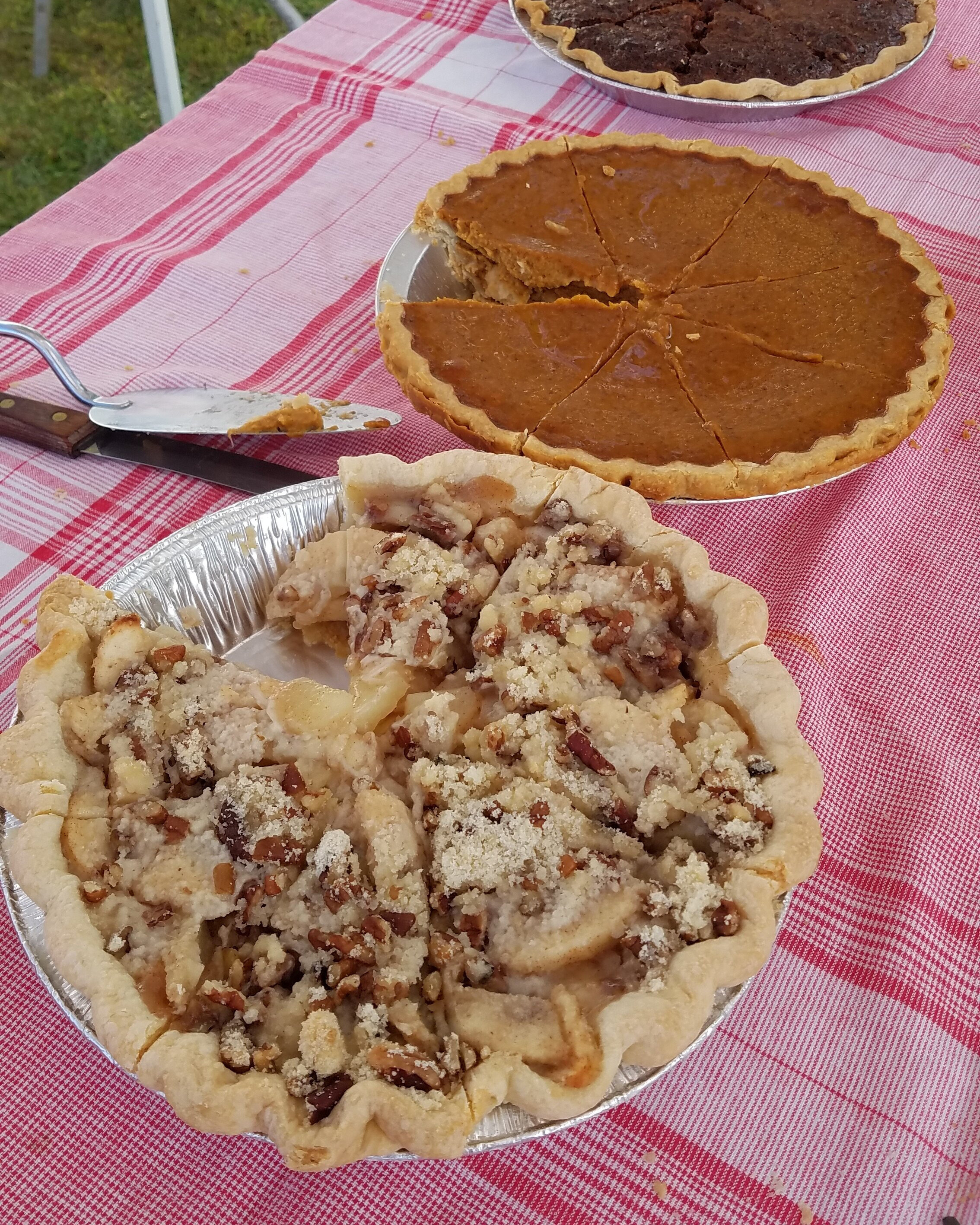 Peacham Fall Fondo Pie Stop