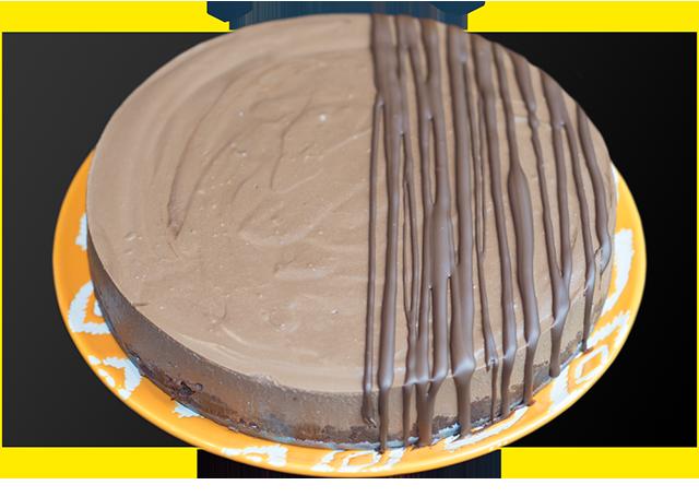 Rich Chocolate Protein Fudge Cake