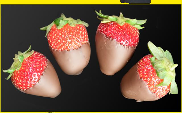 Protein Chocolate Coated Strawberries