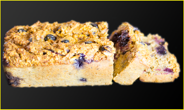 Spiced Carrot and Blueberry Cake
