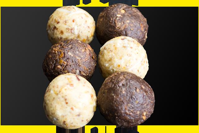 Nutty Chocolate Protein Balls Two Ways