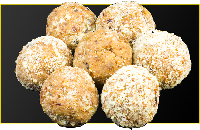 Christmas Spice Protein Balls Recipe