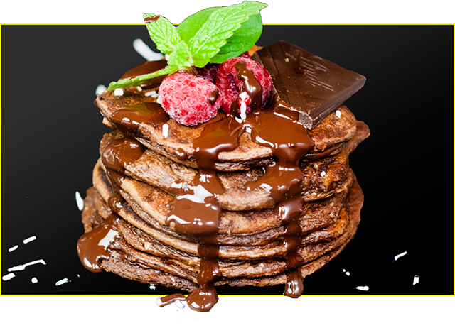 Choc Mint Protein Pancakes Recipe