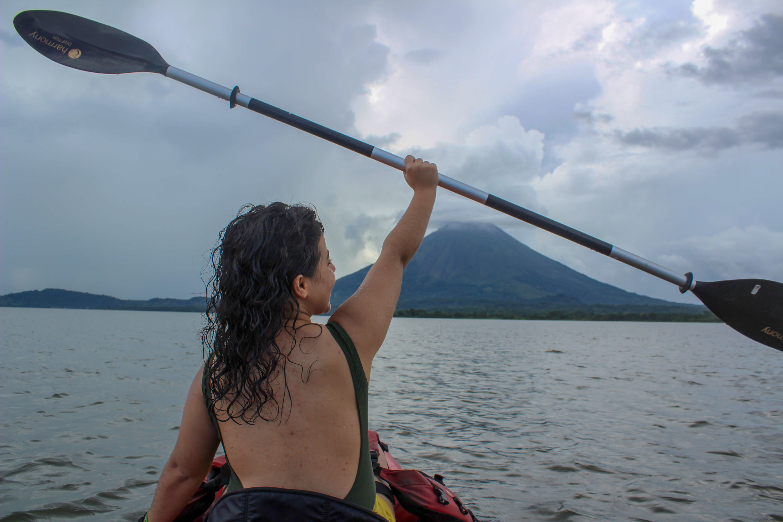 things to do on Ometepe kayaking in the lake, Selvista, Conception, Caballito del Mar