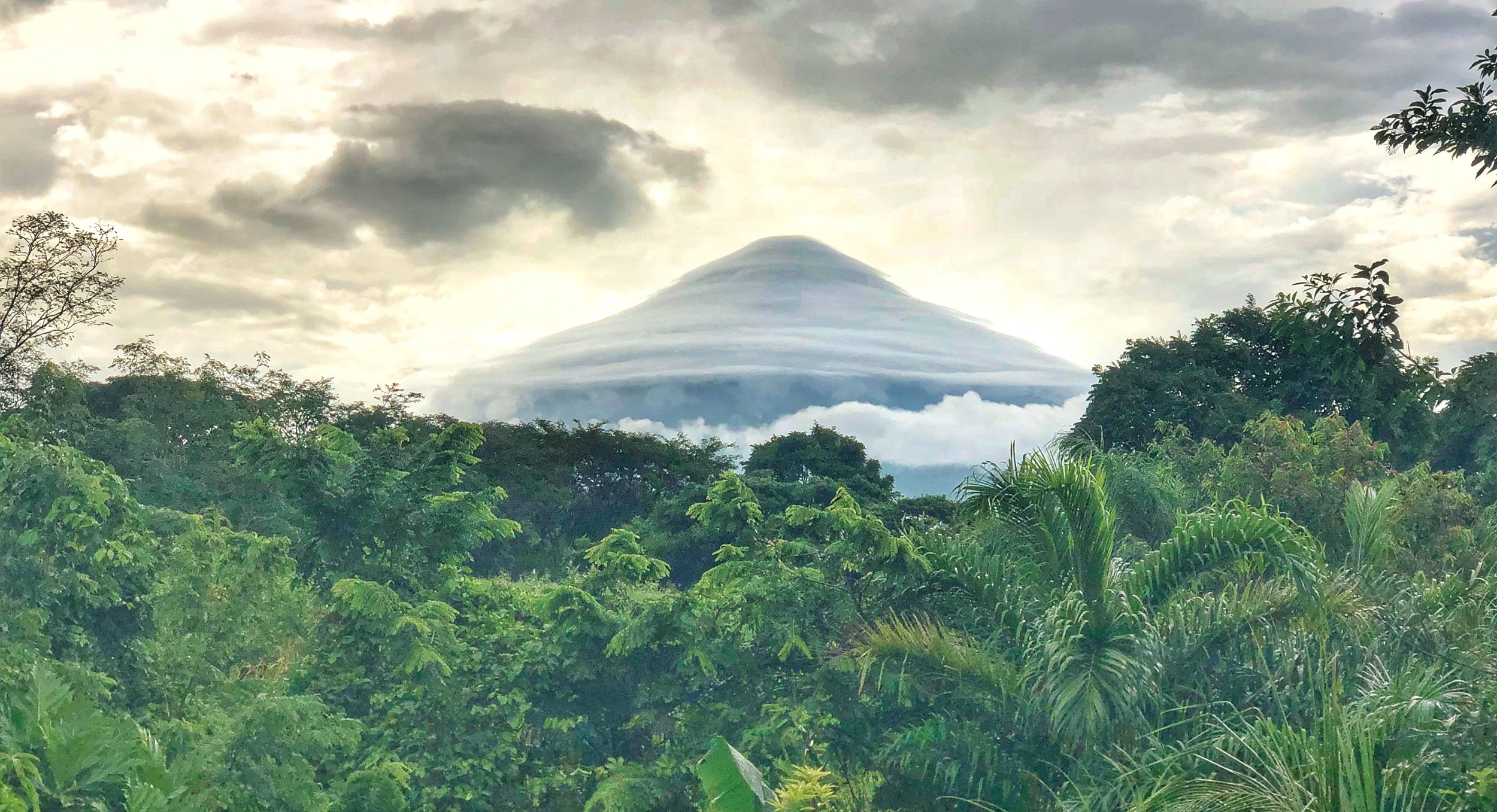 Volcano Conception, Isla Ometepe, view from Selvista by Travis Parkinson