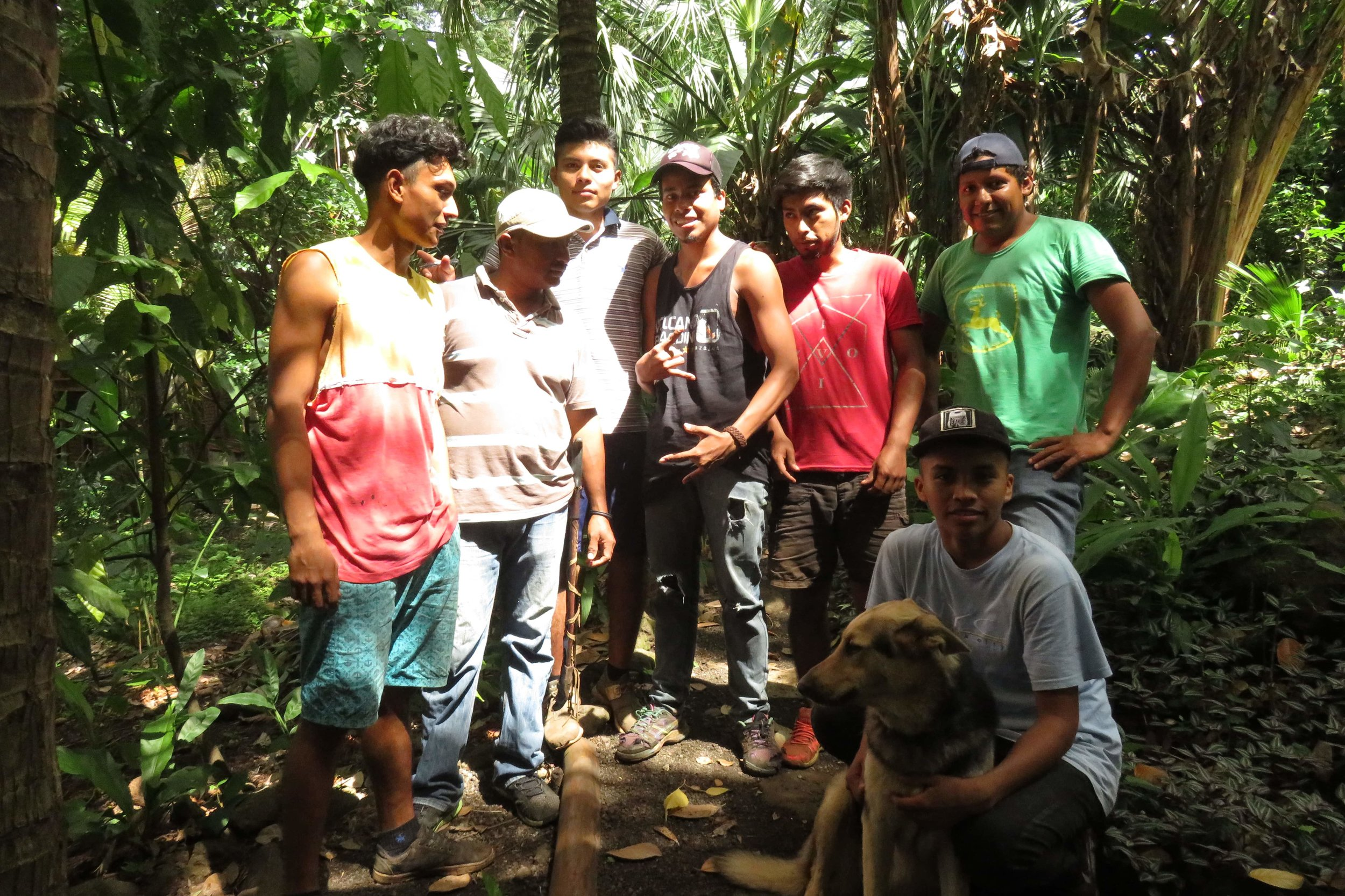 Selvista maintenance team and Navi