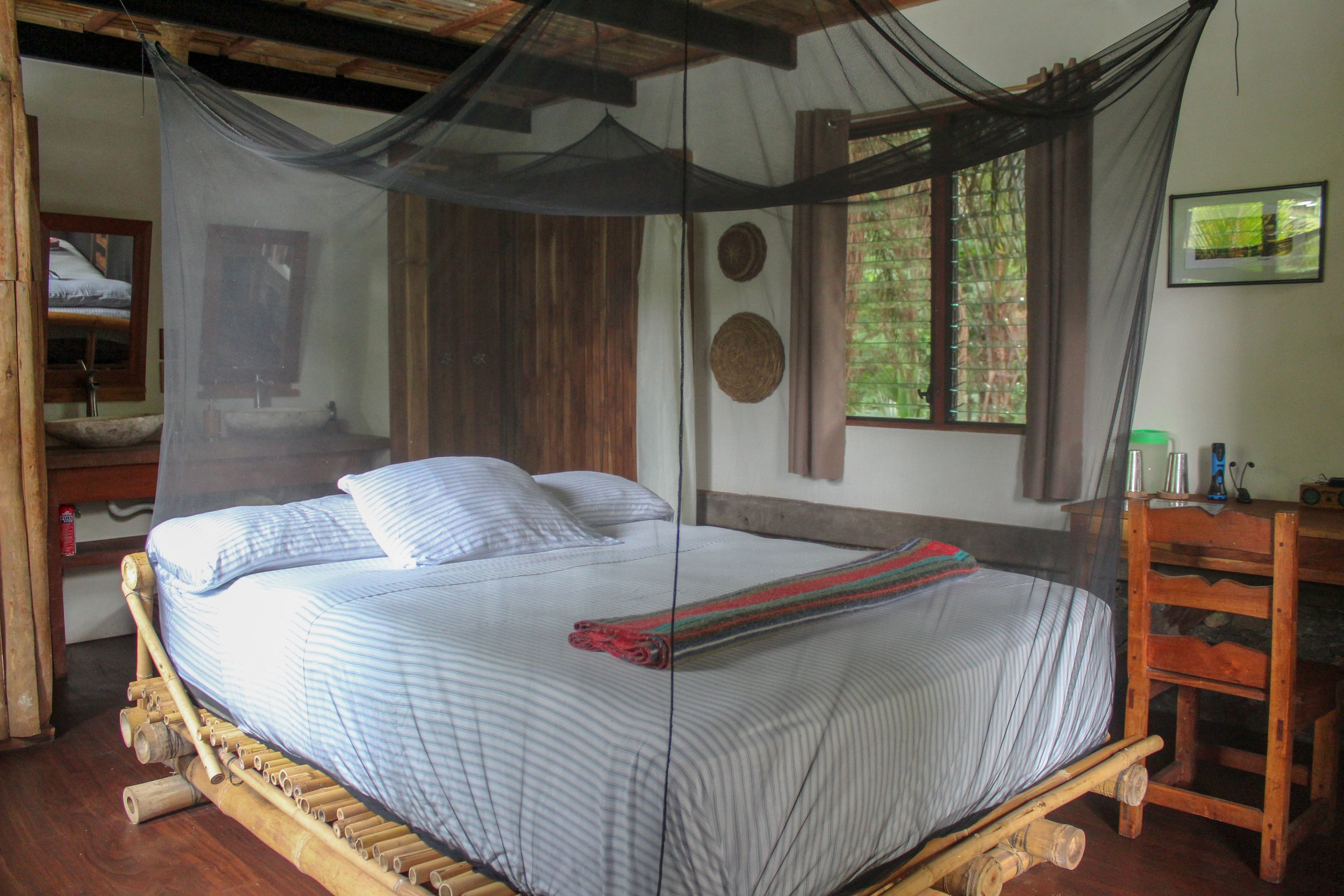 Luxury tree house options, Selvista Guesthouses queen suite