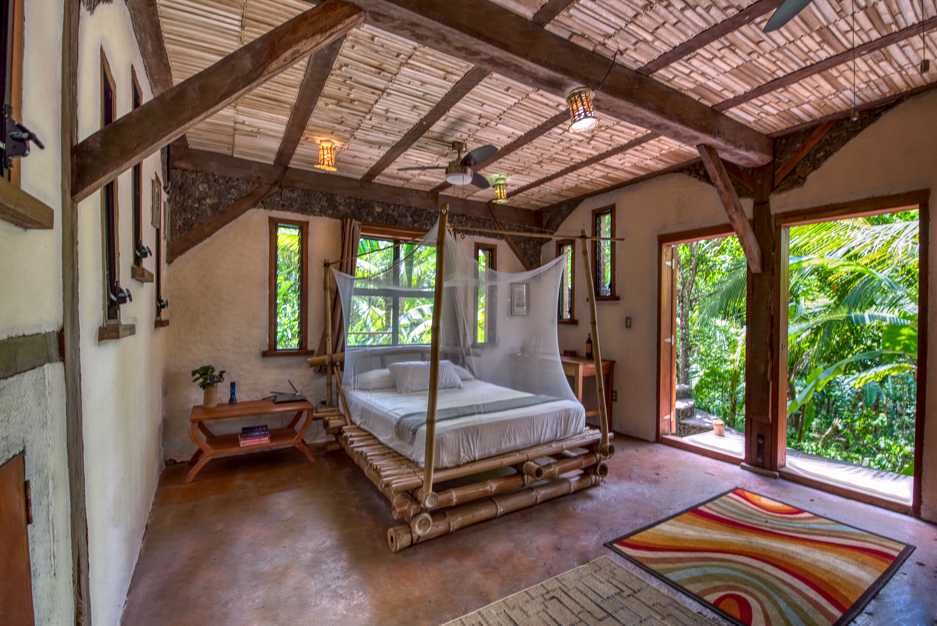 Forest View suite Jungle House Selvista Guesthouses Isla Ometepe accommodations 2019