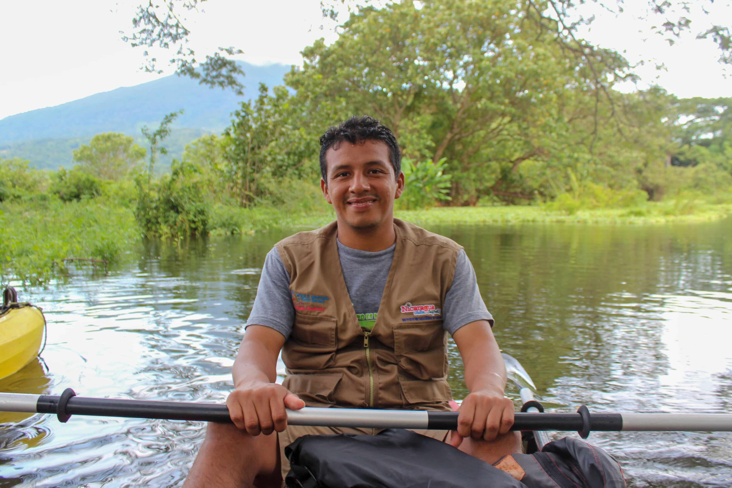 local bi-lingual guides - kayaking the rio istian, Ometepe island activities