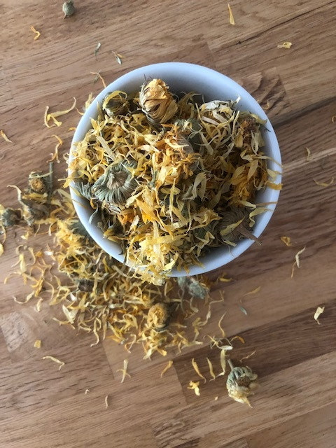 calendula dried herb