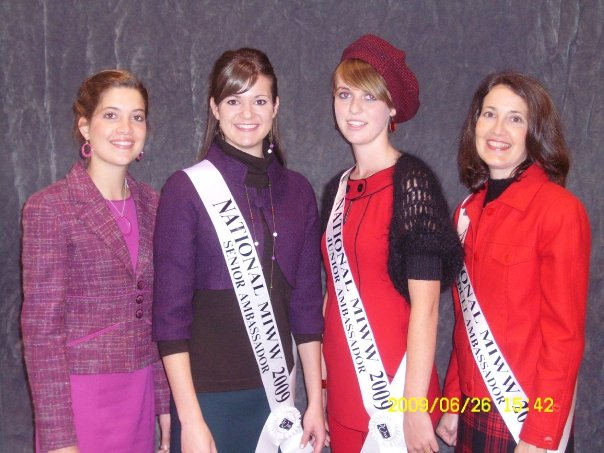 My 2009 national winning outfit (minus the coat). Everyone here is wearing wool!