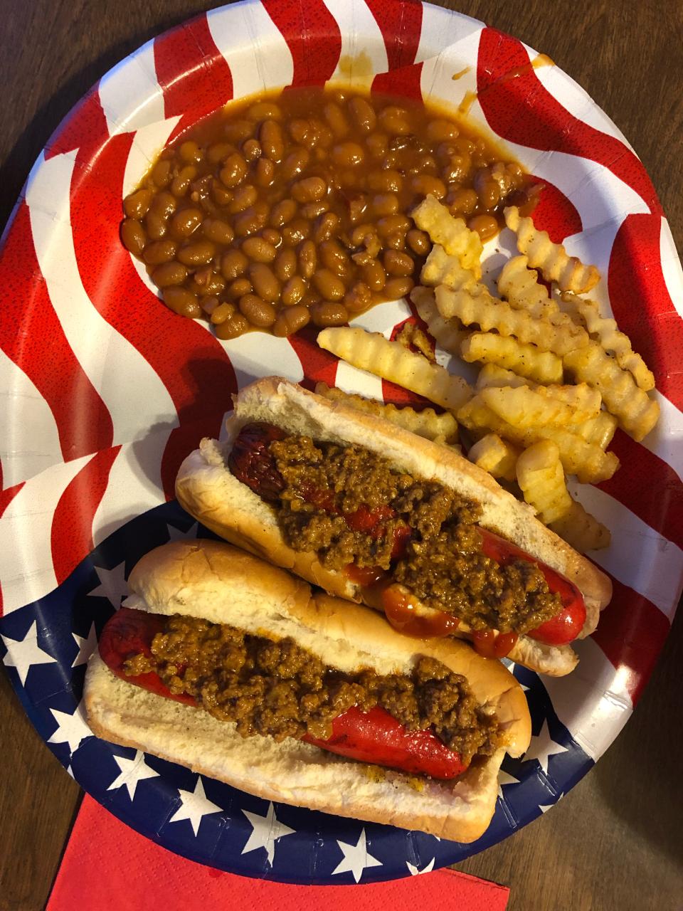Brightleaf hot dogs!!