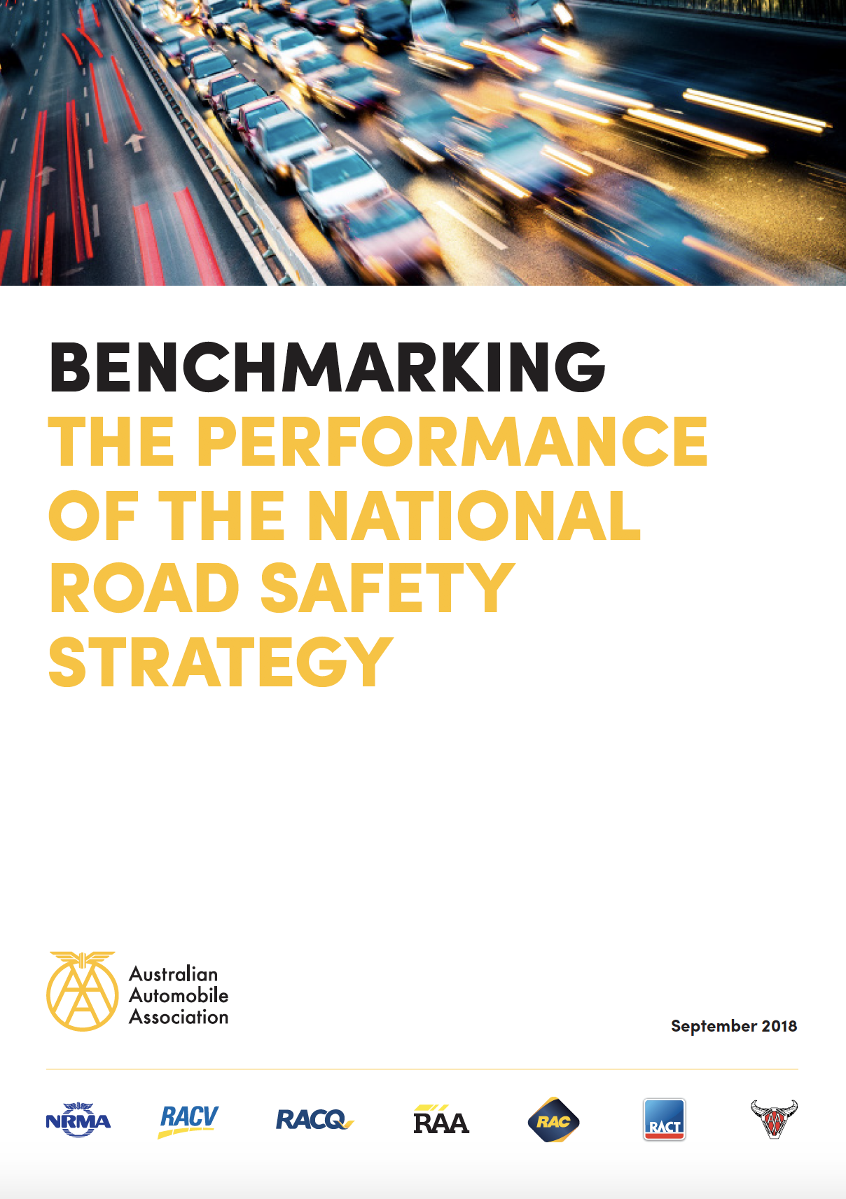 Australian Automotive Association Report, September 2018