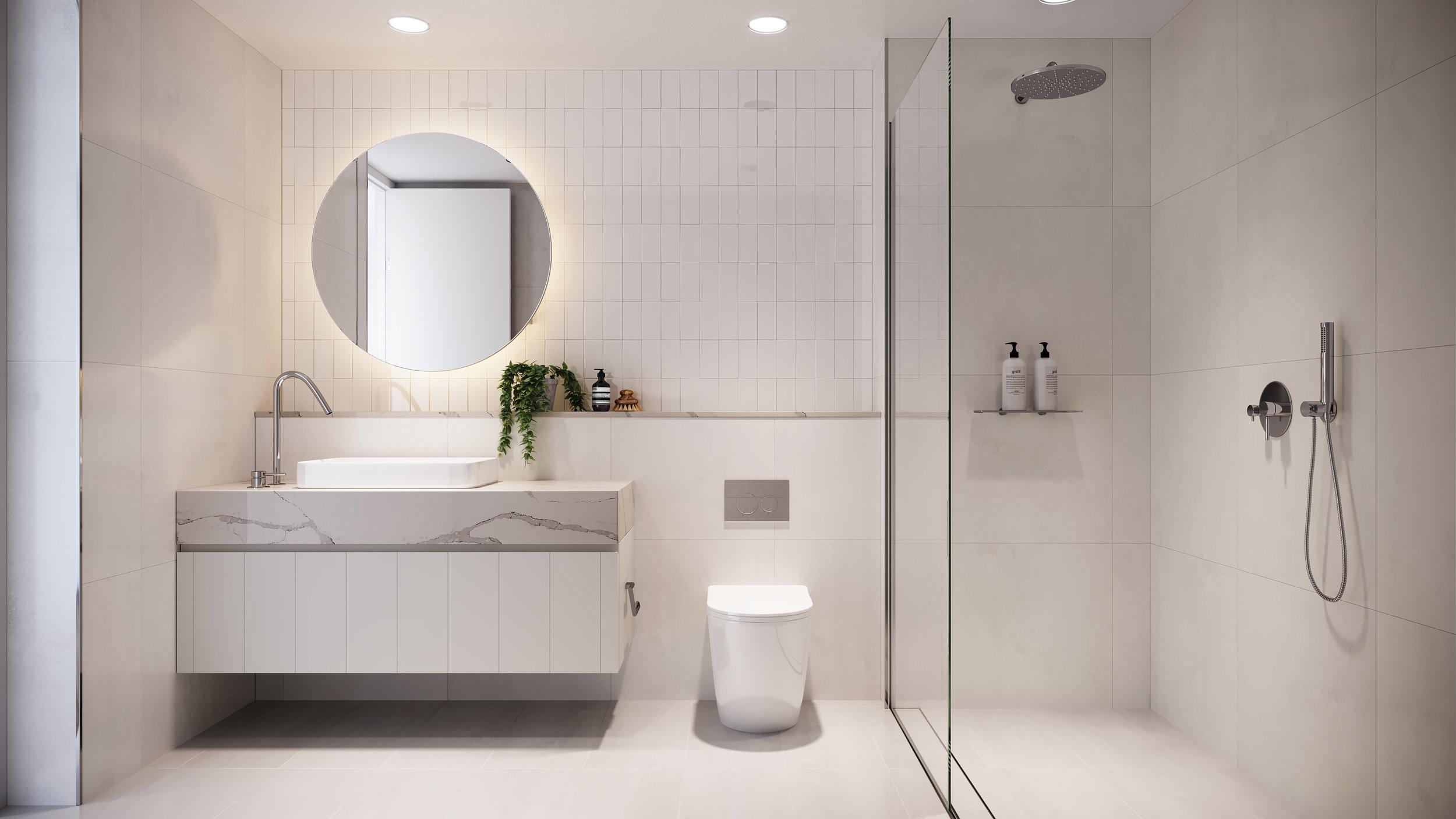 Main Bathroom | Artist Impression