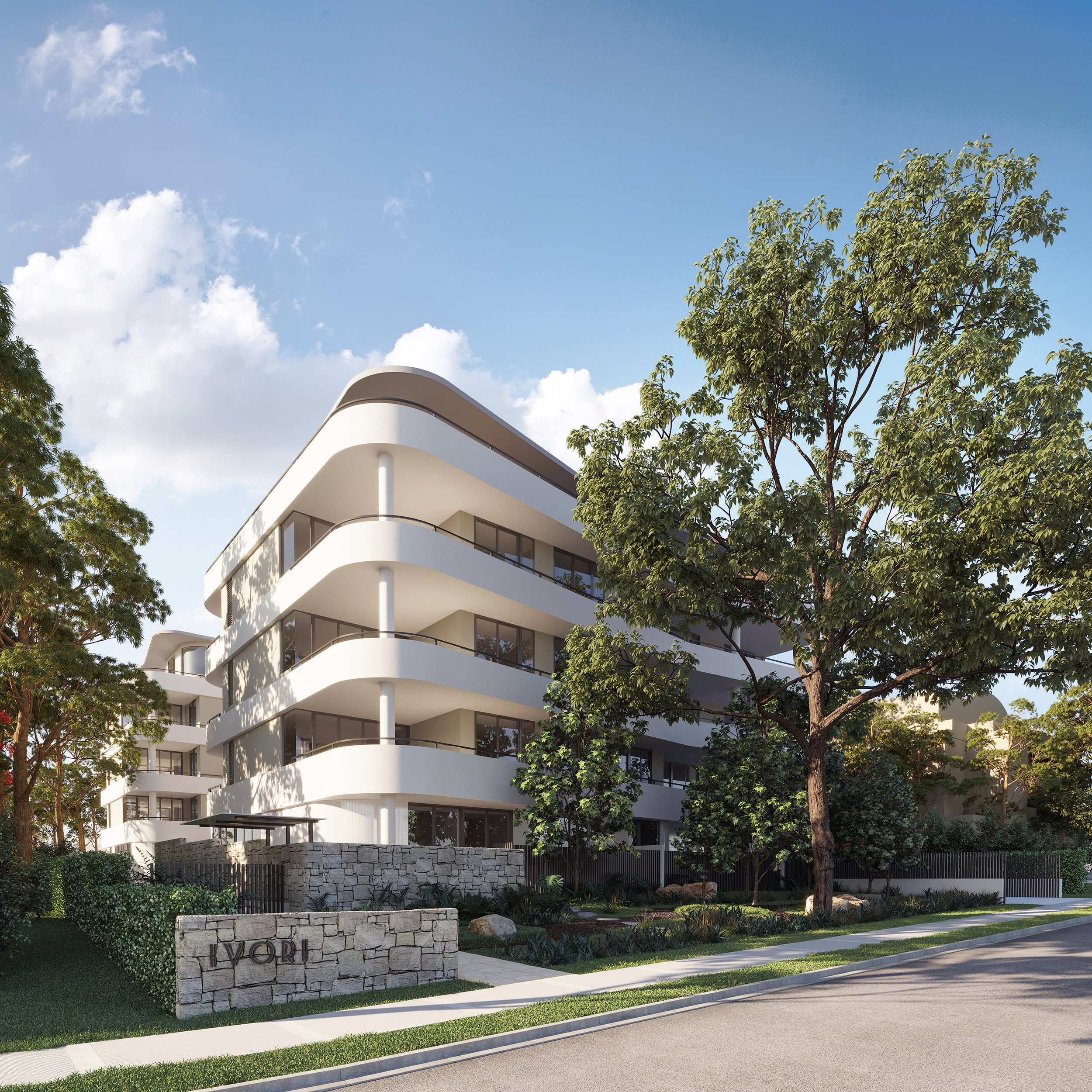 Front Facade from Clyde Avenue | Artist Impression