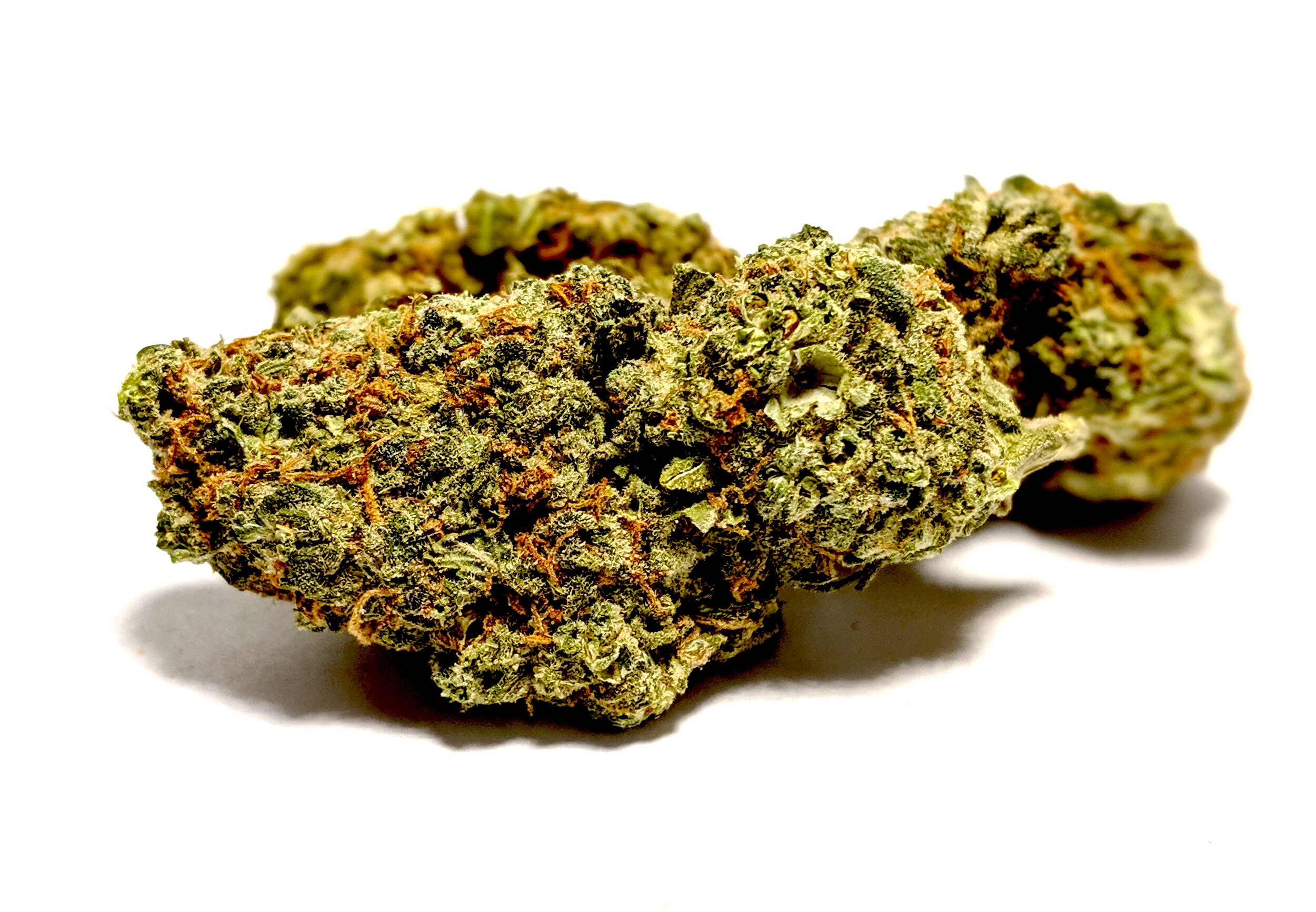 Blue Cheese- Indica    1/4- $60 1/2-$100 OZ-$180   The high from this strain can creep up slowly -- without the initial headrush that's associated with many cerebral sativa strains, this indica will gradually bring on a sense of physical relaxation and an altered way of thinking that may catch smokers by surprise. This mellow indica vibe is excellent for restfulness and de-stressing, but it won't necessarily lead to incapacitating couchlock -- although couchlock is a possibility with larger and larger doses. Blue Cheese's physical effects make it a good means of relief from minor aches and pains, as well as an aid to counteract insomnia. On the sativa side, Blue Cheese confers a mildly euphoric high that won't leave users trapped in a cerebral loop of recursive thinking. As such, it's a great option for treating anxiety, depression, and even some symptoms associated with PTSD. Its clearheaded and focused high is also beneficial for those with attention deficit disorders. Blue Cheese can also be a strong appetite stimulant, for better or worse.