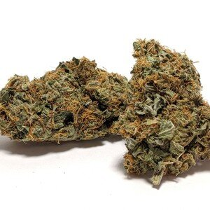 AK-47- Hybrid    1/4- $60 1/2-$90 OZ-$160   Don't let its intense name fool you: AK-47 will leave you relaxed and mellow. This sativa-dominant hybrid delivers a steady and long-lasting cerebral buzz that keeps you mentally alert and engaged in creative or social activities. AK-47 mixes Colombian, Mexican, Thai, and Afghani varieties, bringing together a complex blend of flavors and effects. While AK-47s scent is sour and earthy, its sweet floral notes can only be fully realized in the taste. Created in 1992 by Serious Seeds, AK-47 has won numerous Cannabis Cup awards around the world for its soaring THC content. For those hoping to fill their gardens with this resinous, skunky hybrid, growers recommend an indoor environment with either soil or hydroponic setups. AK-47 is easy to grow and has a short indoor flowering time of just 53 to 63 days, while outdoor plants typically finish toward the end of October.