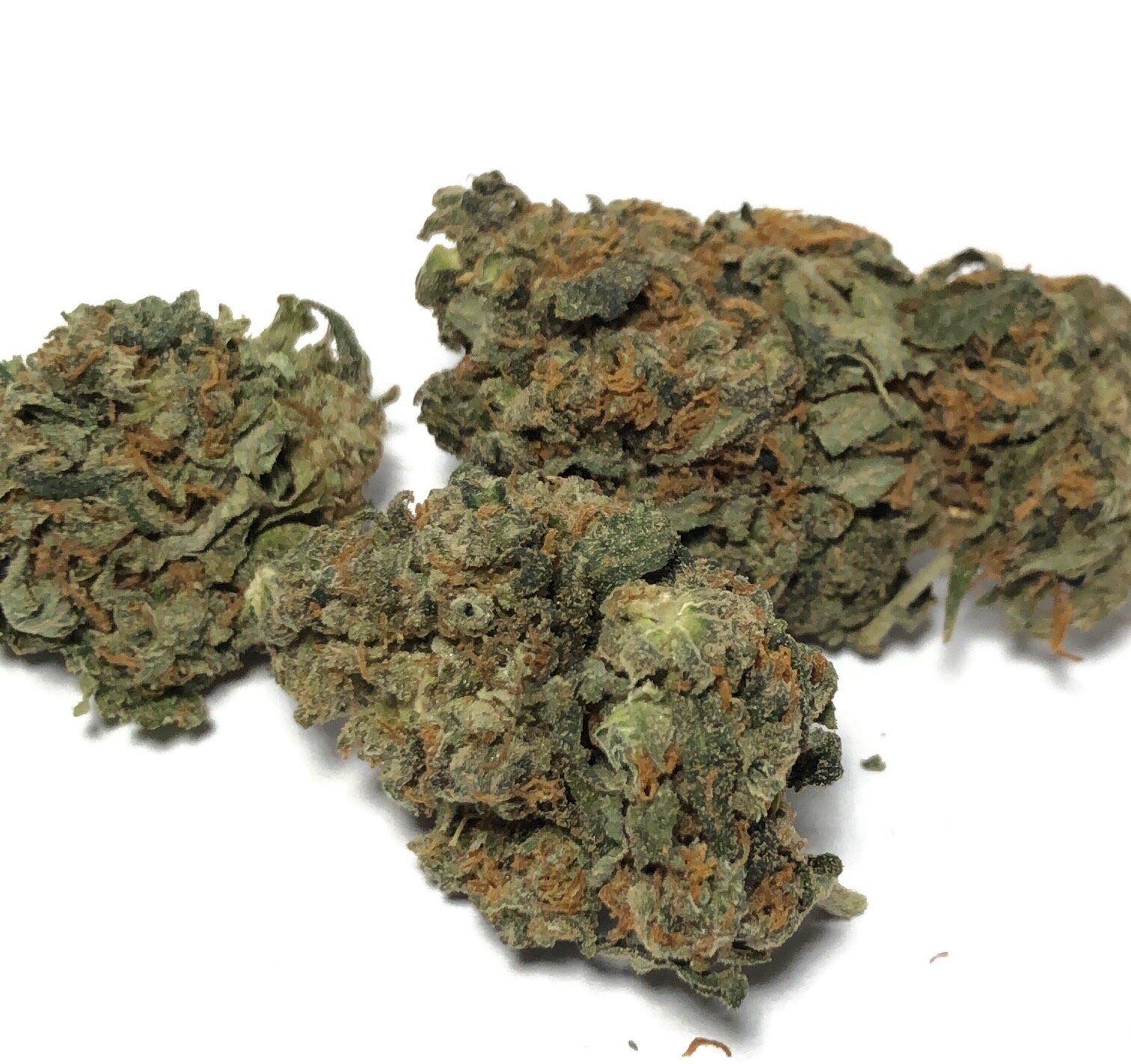 Papa's OG - Indica    $125 - OZ SALE!   Cultivated in Glendale, Arizona exclusively by Arizona Organix, Papas OG is an indica cannabis strain that provides positive and uplifting cerebral effects in unique combination with the classic indica full-body relaxation. Consumers find it to be functional and social while still remaining true to its indica roots. A descendant of Skywalker OG and OG Kush, Papas OG inherits a sweet and earthy grape aroma and potent medicinal effects suitable for patients treating pain, insomnia, and stress disorders.