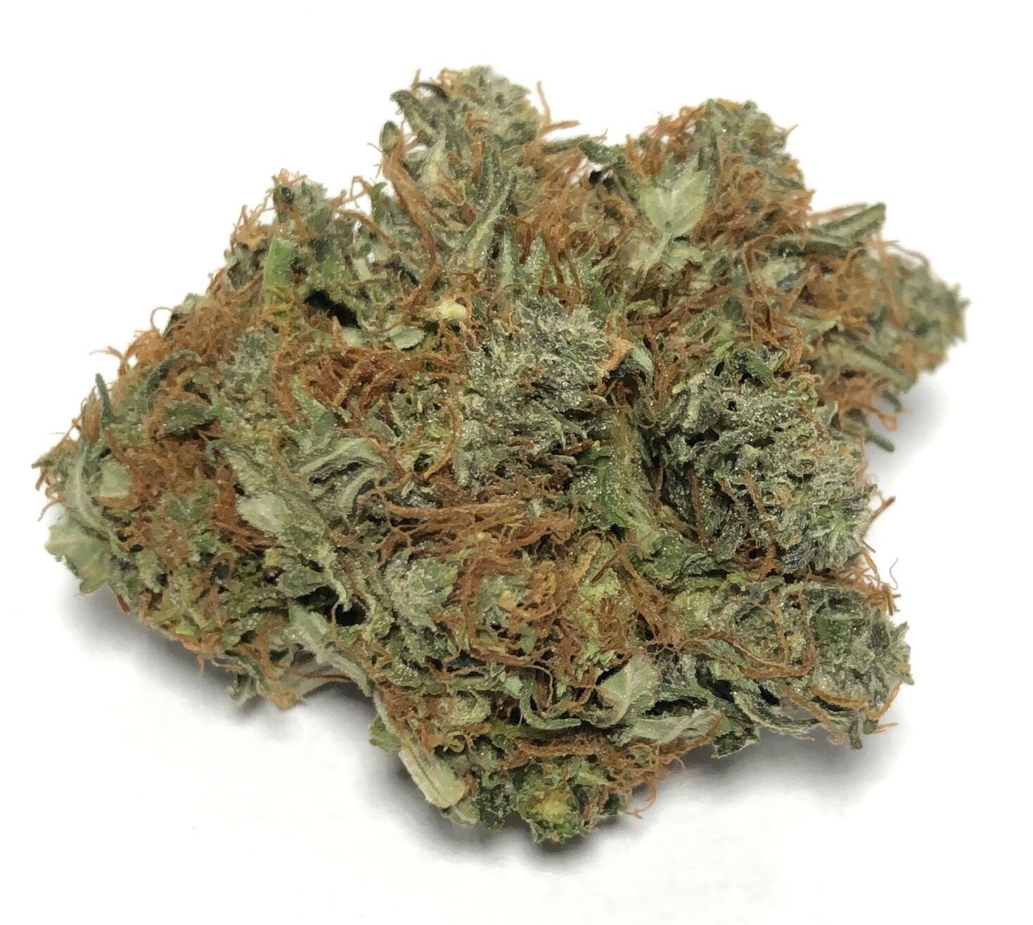 Earth OG- Hybrid    1/4- $65 1/2-$110 OZ-$200   A combination of Sour Diesel and Ghost OG, Earth OG is a cerebrally-focused hybrid with stimulating and happy effects. As its name suggests, this strain has a pleasant, earthy aroma with sour lemon undertones. Earth OG effects are enjoyable for introverts and extroverts alike: an introspective, creative buzz makes this strain good for solo sessions, but social environments may also bring out its energetic, talkative qualities. Depression, stress, and anxiety stand little chance against Earth OGs uplifted mindset, and patients treating appetite loss and nausea may also benefit from its potent therapeutic effects.