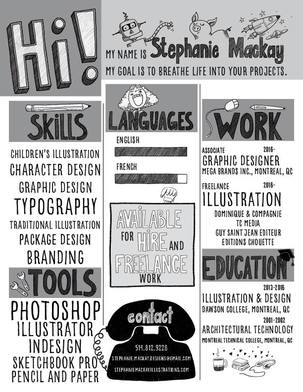 My resume - this is me