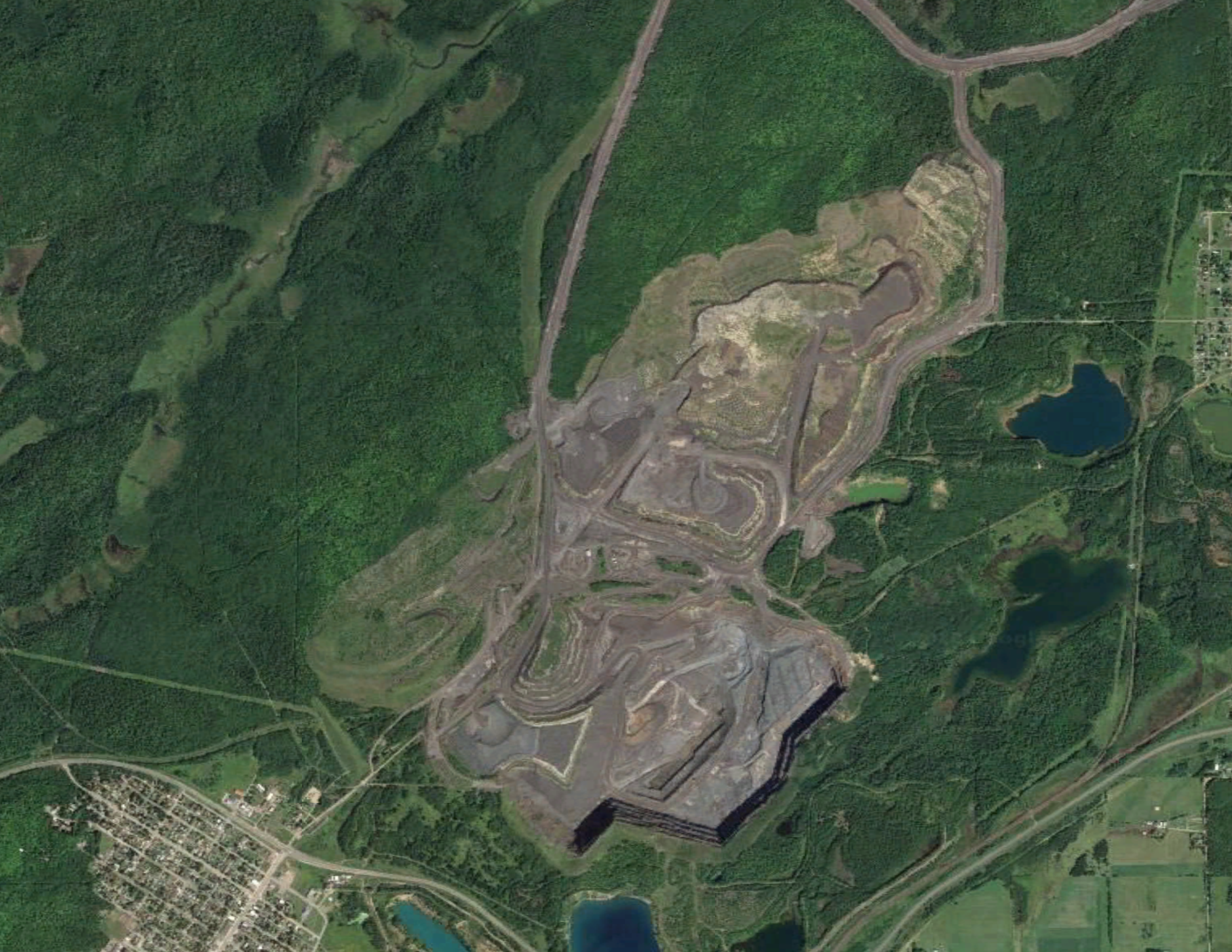 Elcor now, as part of the ArcelorMittal mine