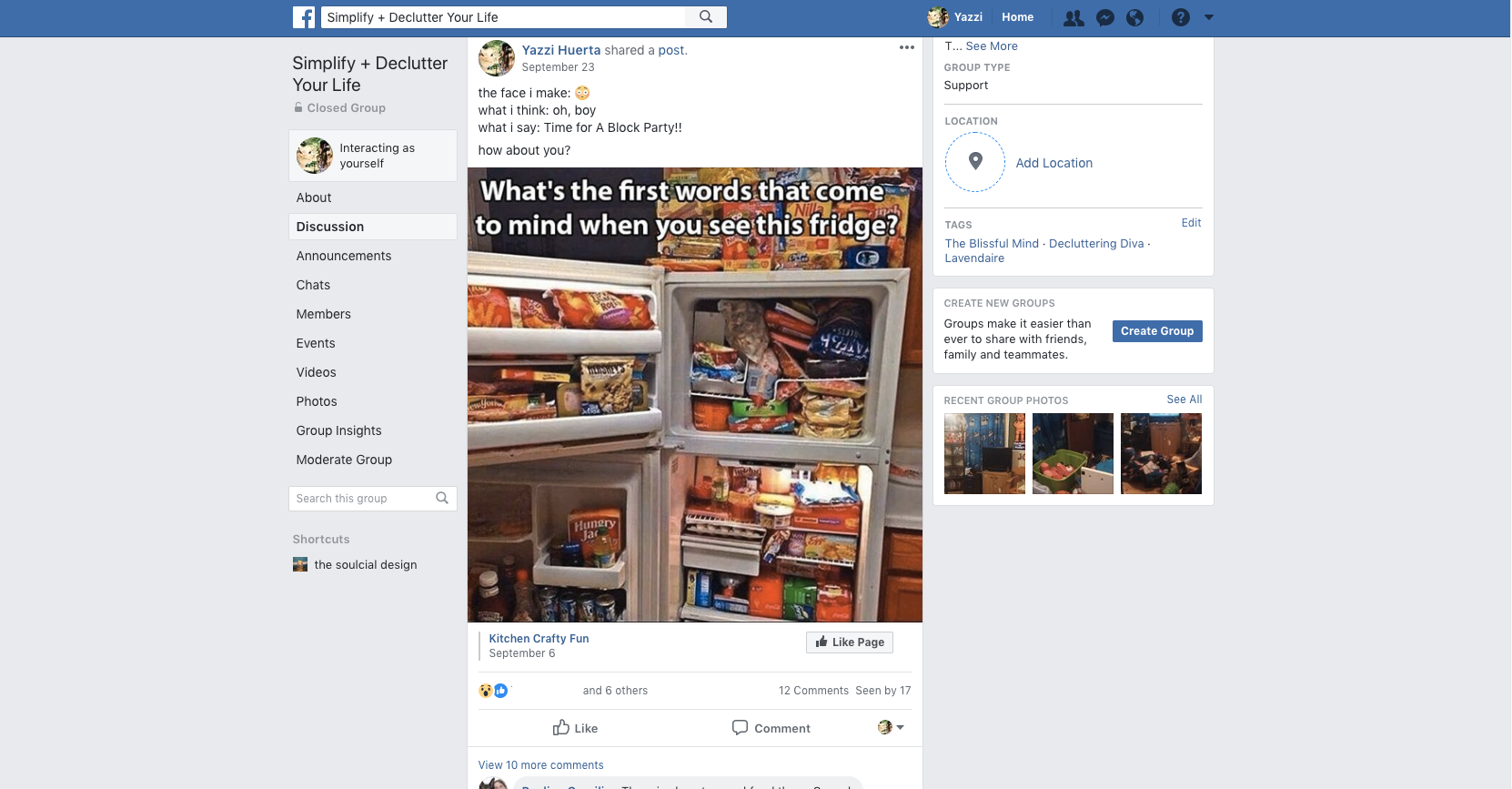 Grow your engagement by sharing posts from other pages and asking your people questions! #facebookgroupquestions #facebookgroupgrowth #facebookengagement TheSoulcialDesign.com