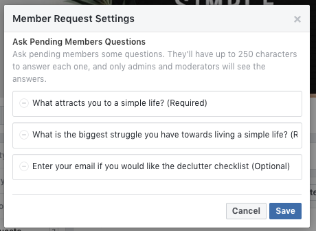 Your Facebook Group Questions are invaluable they can help you grow your engagement and your group! #Facebookgroup #facebooktips #facebookengagement