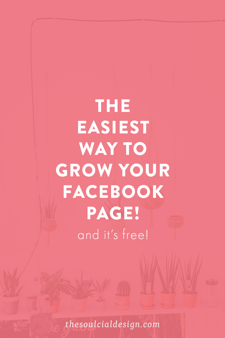 Want to grow your facebook page for free? Try this simple tip to invite facebook likes for free! #facebookgrowth #facebooklikes #freefacebooklikes