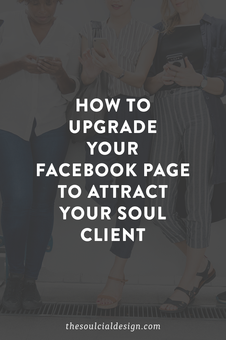 How to grow and attract your ideal customer, grow likes, with these Facebook page tips #facebookpagetips #facebookgrowth #facebooklikes thesoulcialdesign.com