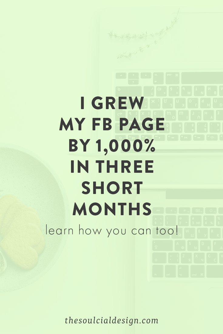 How I increased my Facebook Page likes from 315 Fans to 3,500 in three months and tips to help you grow your social media #FacebookPage #FacebookGrowth #SocialMediaTips