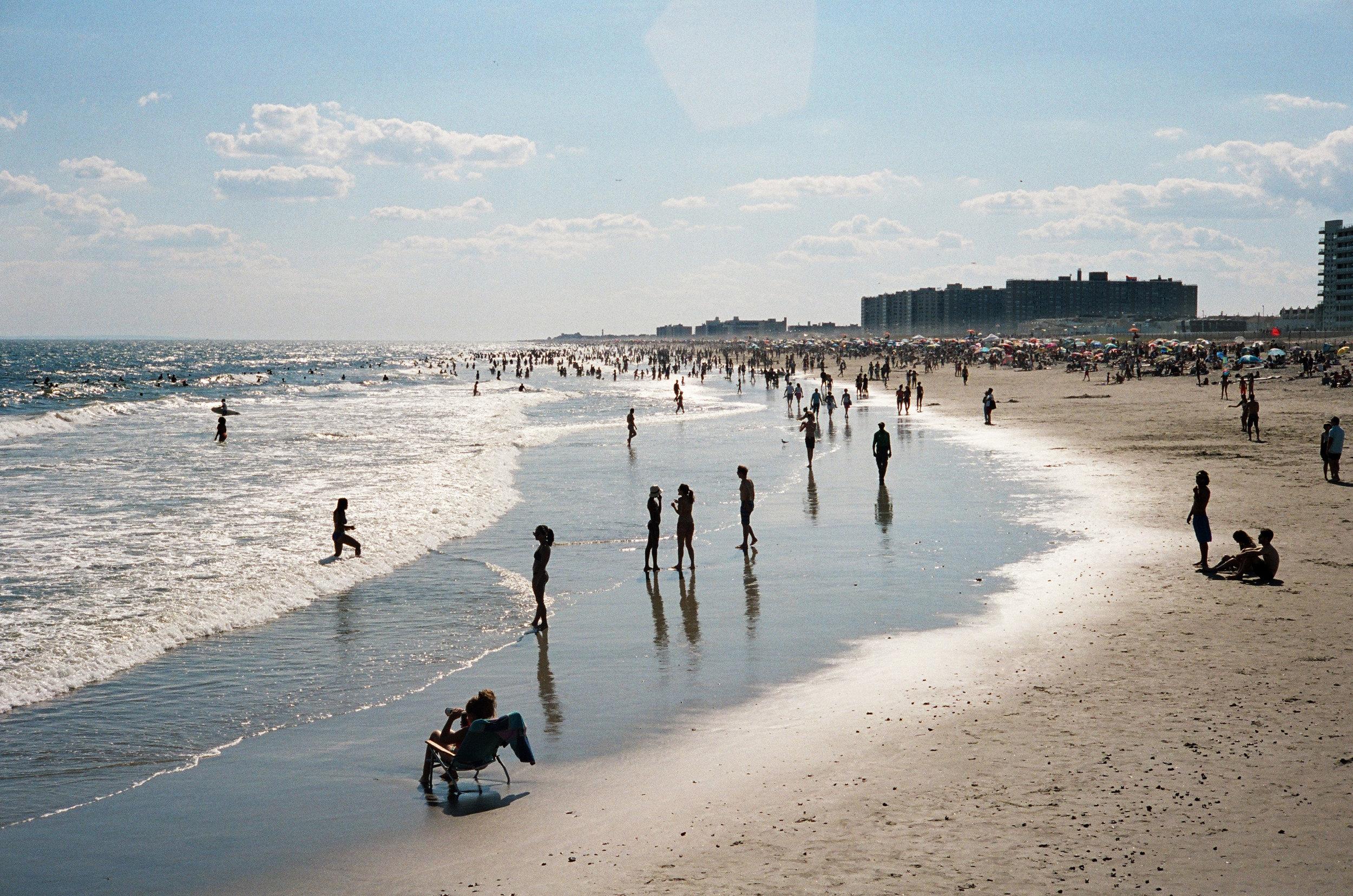 Rockaway, New York : Kodak Portra 400