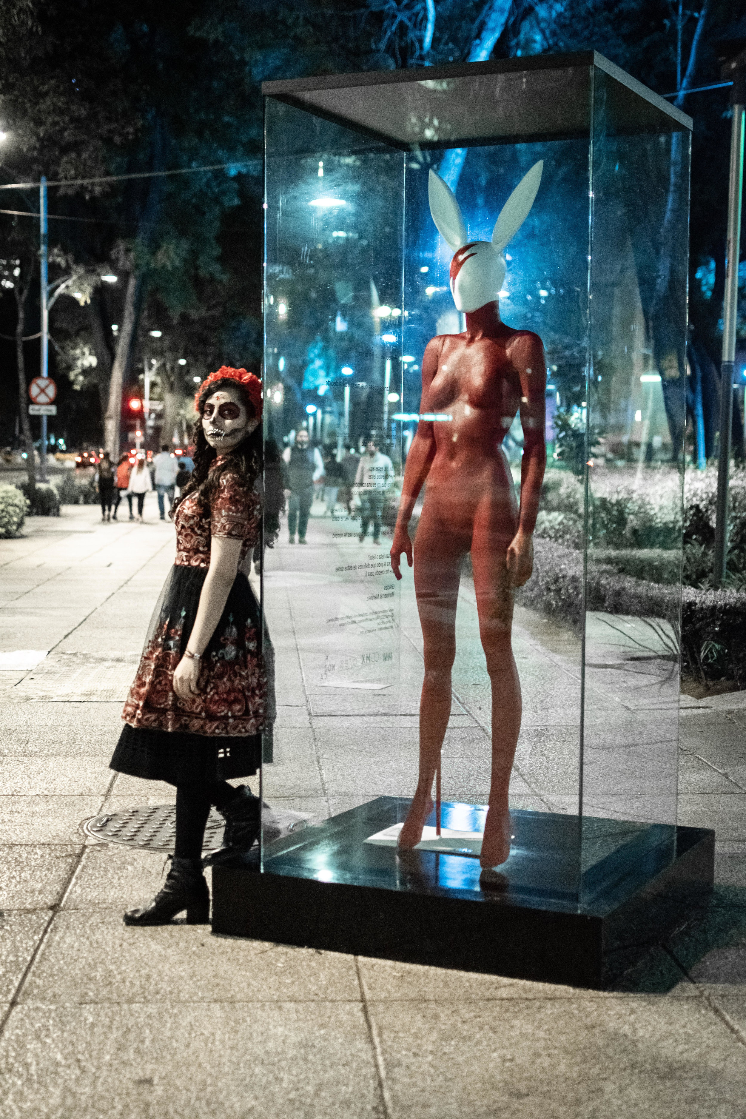 Bunny Woman (Ziggy Stardust Tribute)  MM en Reforma  Paseo de la Reforma, Mexico City  2018