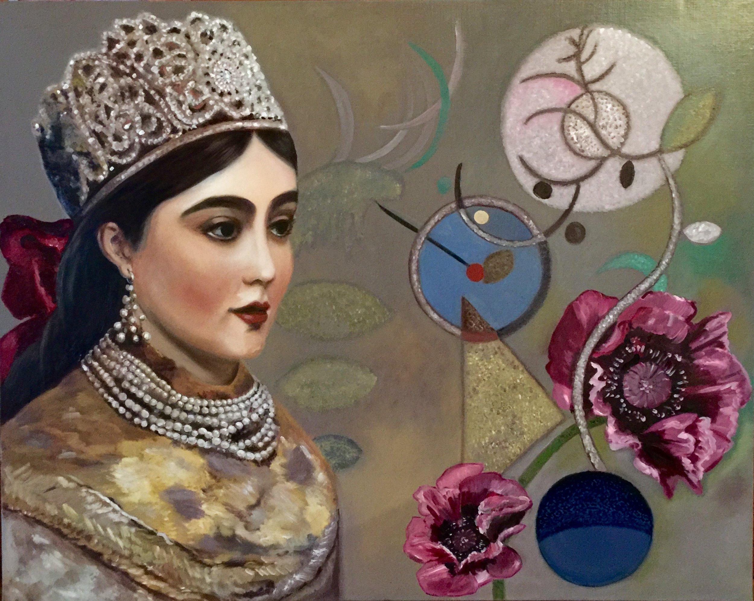 Young Moldavian princess.