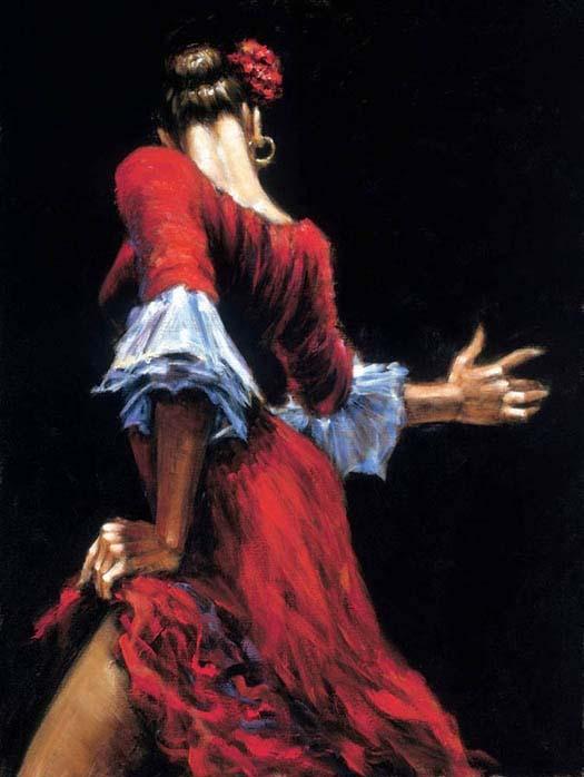 Flamenco Dancer III