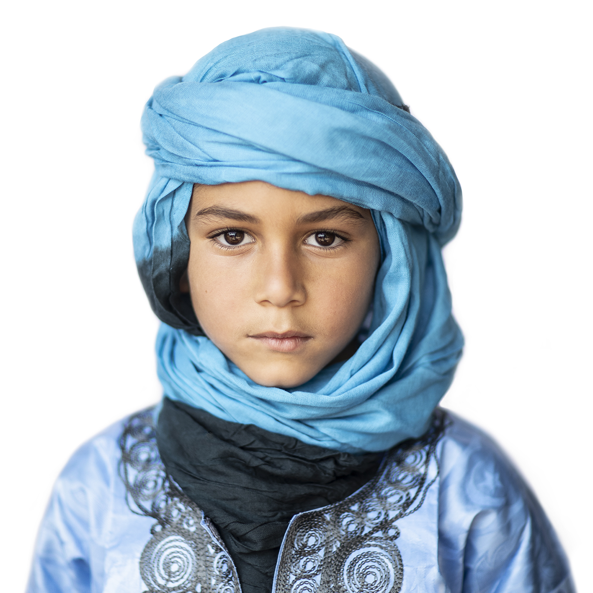 Moroccan Boy in Sahara