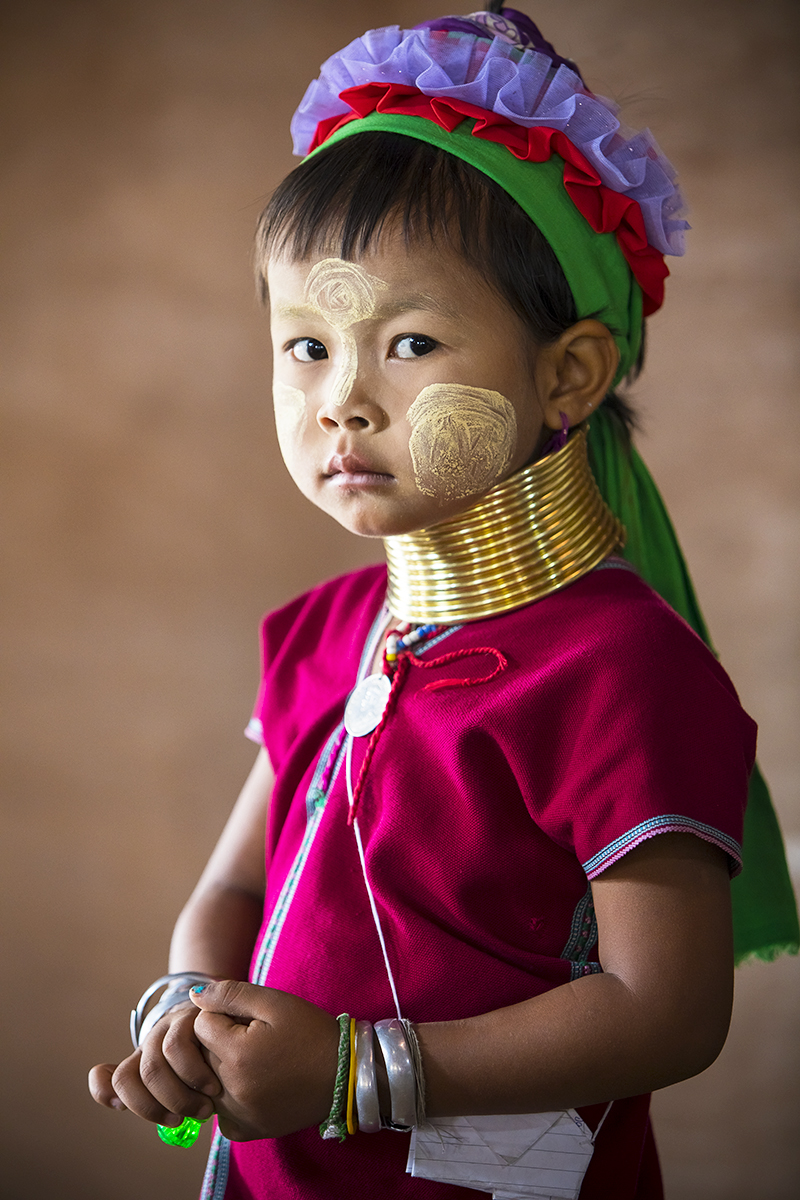 Kayan Girl in Burma