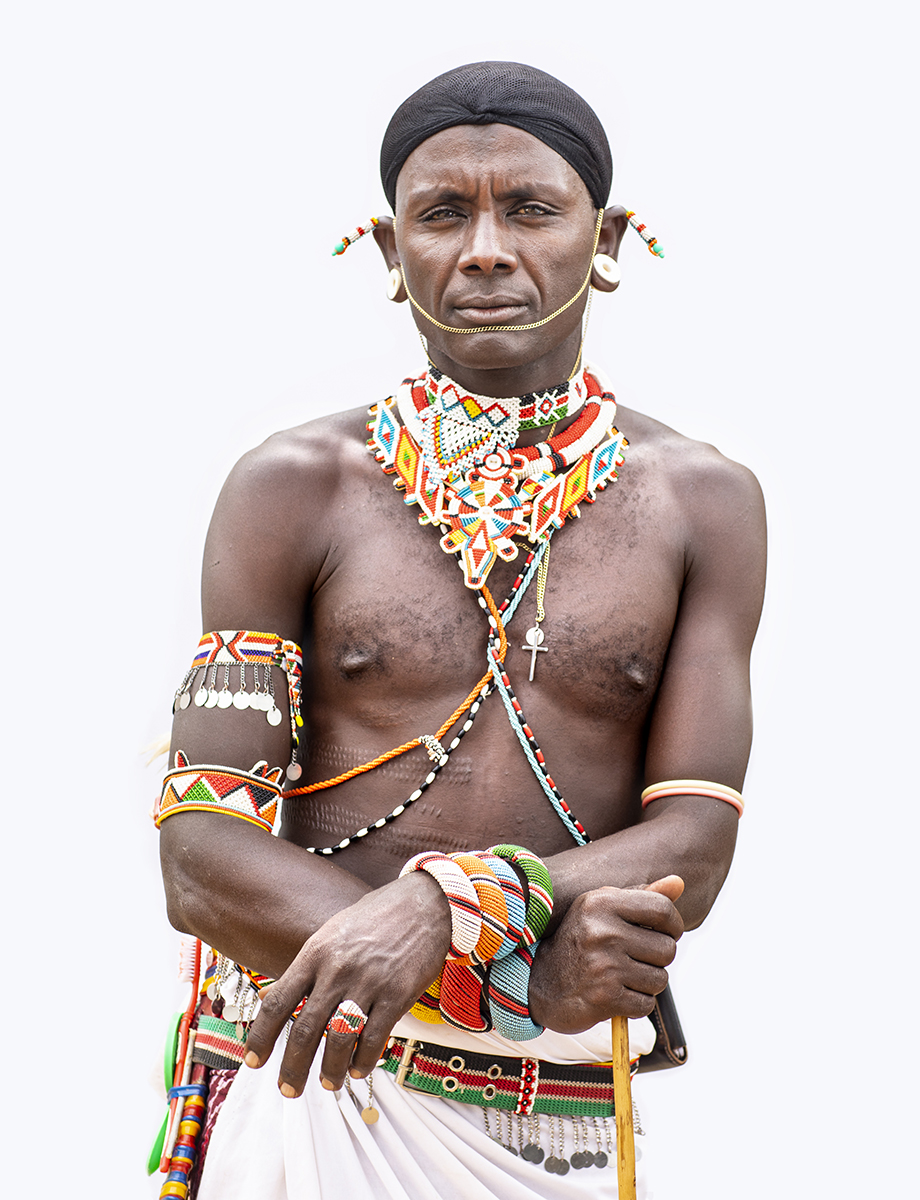 Samburu Warrior in Kenya