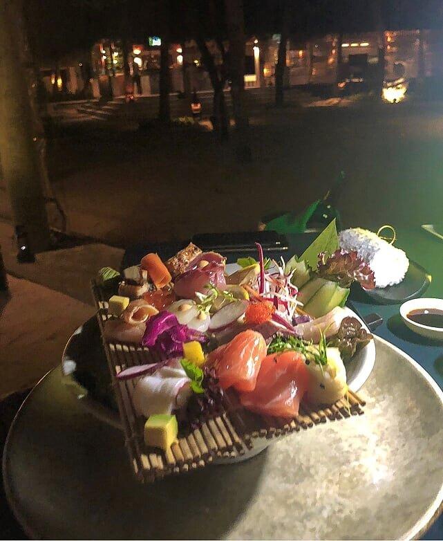 Zen Sake dinner