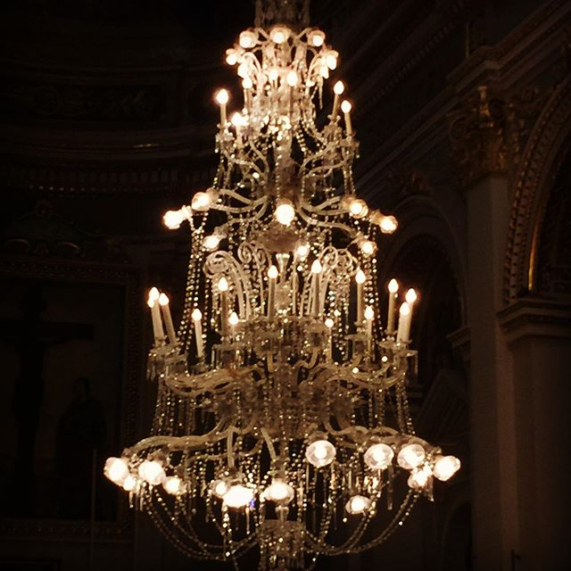 Another project entrusted to us. Today we started dismantling these to grand chandeliers to be cleaned and modified. * * * * * #qala #qalagozochurch #mmchandeliers #chandeliers #restoration #crystalchandelier #gozo #hardwork