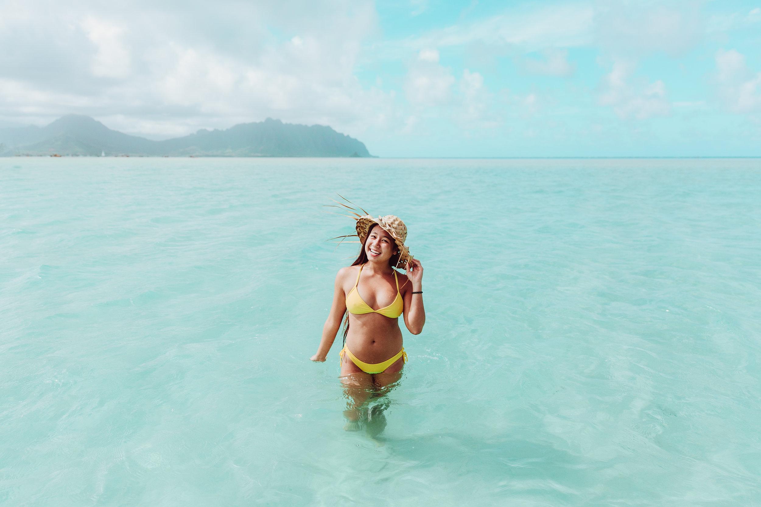 Hawaii photographer, product photography, Lifestyle photography, genkimedia, Genkiphotos, Hawaii product photography, Oahu photographer, Bikini, Hawaii sandbar