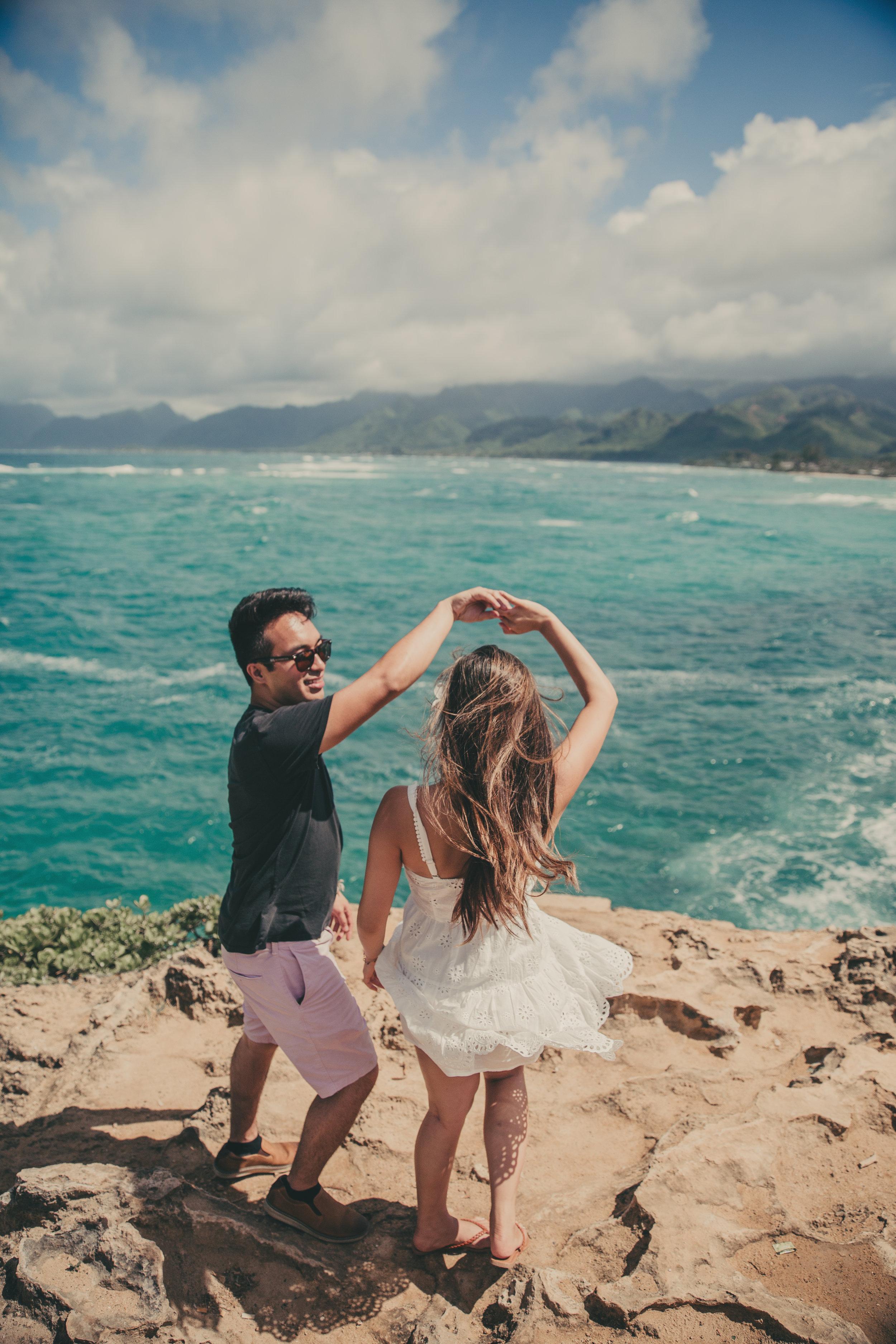 Hawai'i photographer, Oahu photographer, honolulu photographer, genkiphotos, genkimedia, engagement photos, Hawaii Couples Photography, Couples, Hawaii Proposal, Hawaii Sunset, North Shore Hawaii