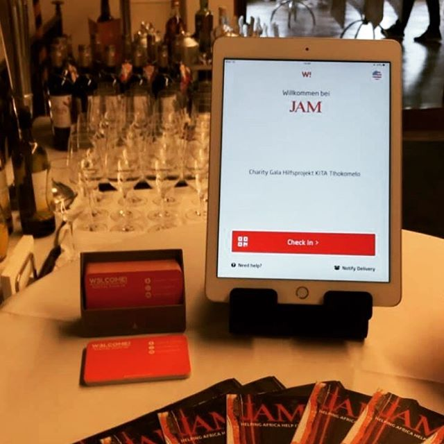 A few weeks ago @w3lcome_signin helped @jamschweiz at the reception of a charity event to support the growth of Africa. W3lcome fully support the humanitarian development of our World. Great cause! . . www.jam-schweiz.org . . Understand how our application can give your visitors an incredible experience, control and capture leads in events at www.w3lcome.com . . #visitormanagement #w3lcome #JAM #events #reception #supportAfrica #humanity